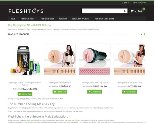 Fleshlight (New Zealand and Australia)