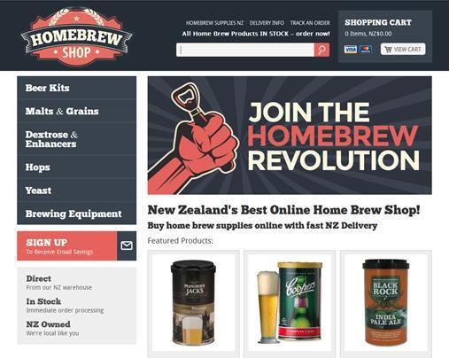 Home Brew Shop NZ